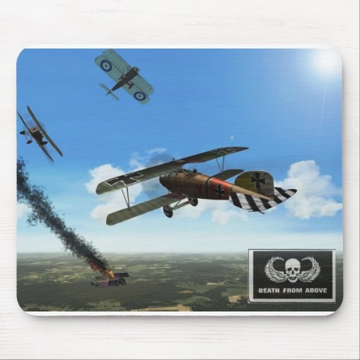 Death from Above Mouse Mats