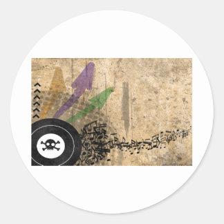 Death Groove Round Sticker