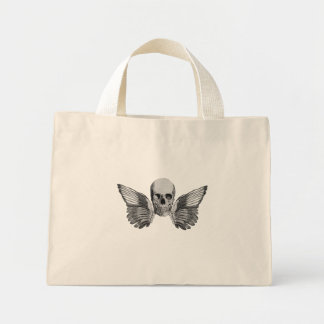 Death Head Angel Tote Bag