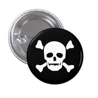 Death Head Skull 3 Cm Round Badge