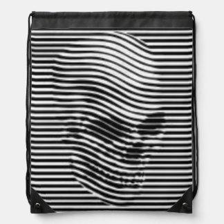 Death is a Dimension Drawstring Bag