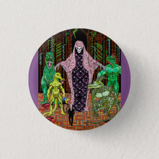 Death is a Woman 3 Cm Round Badge