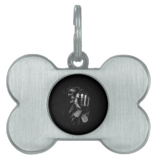 Death is Coming Pet ID Tags