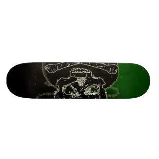 Death is Sick right Skate Decks