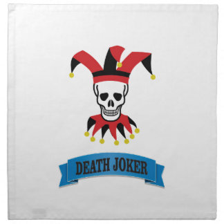 death joker art napkin