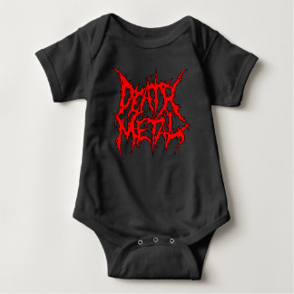 Death Metal Baby Bodysuit