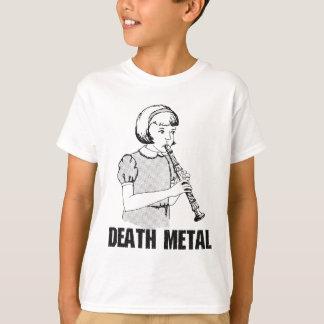 Death Metal Funny Music Genre Heavy Metal Humor T-Shirt