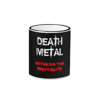 Death Metal Ringer Mug