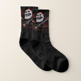 Death metal skull Socks 1