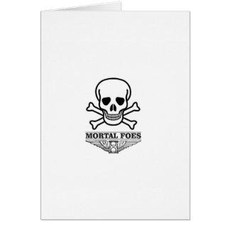 death mortal foes card