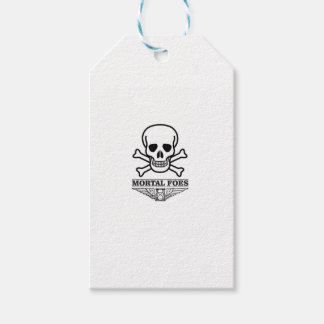 death mortal foes gift tags