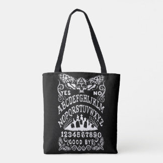 Death Moth witch board tote