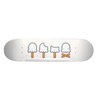 death of a popsicle deck 21.6 cm old school skateboard deck