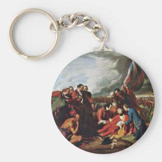 Death Of General Wolfe By West, Benjamin Key Ring