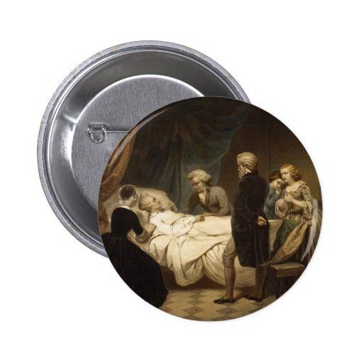 Death of George Washington button