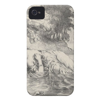 Death of Ophelia iPhone 4 Case-Mate Cases