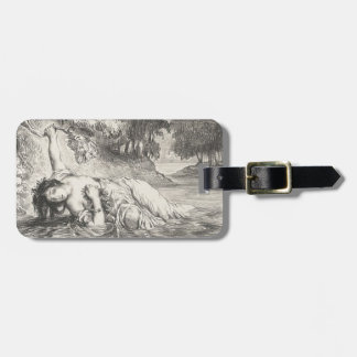 Death of Ophelia Luggage Tag