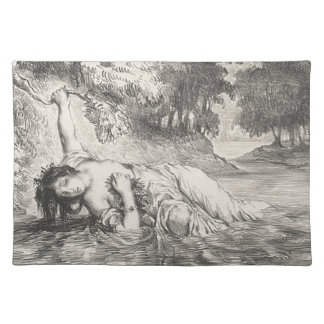 Death of Ophelia Placemat