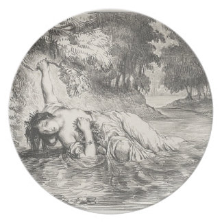 Death of Ophelia Plate
