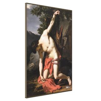 Death of Saint Sebasian Canvas Print