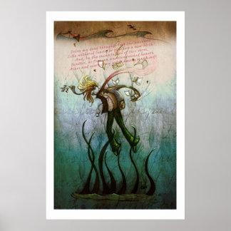 'Death of Shelley' print
