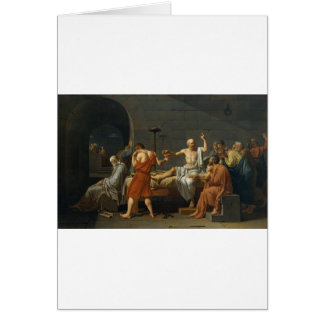 Death of Socrates Card