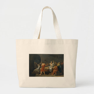 Death of Socrates Large Tote Bag