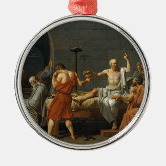 Death of Socrates Metal Ornament