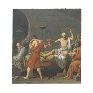Death of Socrates Notepad