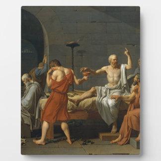 Death of Socrates Plaque