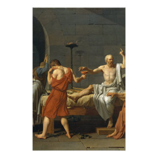 Death of Socrates Stationery