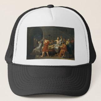 Death of Socrates Trucker Hat