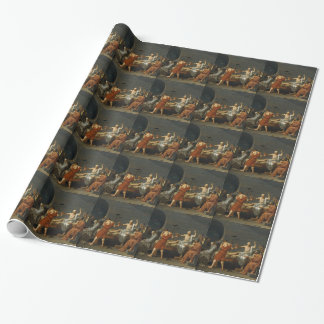 Death of Socrates Wrapping Paper