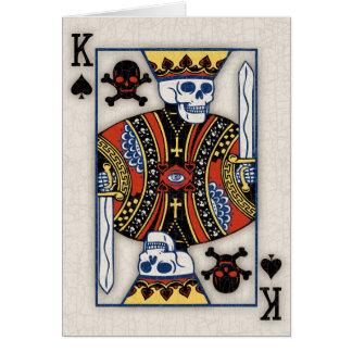 Death of Spades Greeting Card