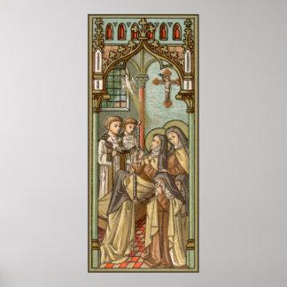 Death of St. Teresa of Avila (SAU 28) Poster