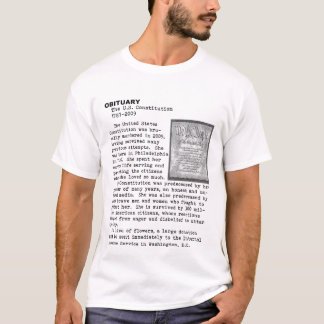Death of the Constitution T-Shirt