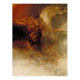 Death on a Pale Horse Postcard