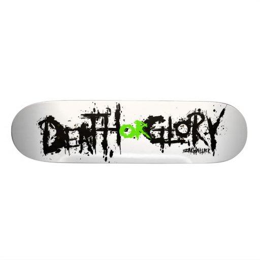 Death or Glory Skate Decks