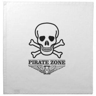 death pirate zone napkin
