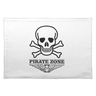 death pirate zone placemat