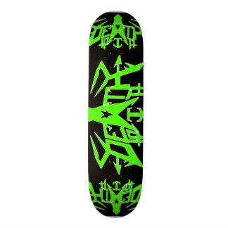 Death Pit SkateBoard Nuclear Green