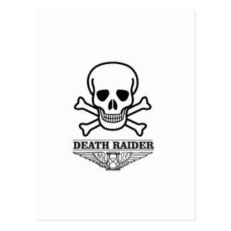 death raider postcard