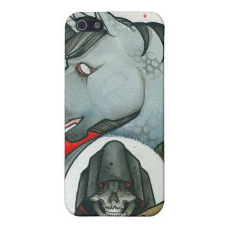 """Death rides a Unicorn"" Cover For iPhone 5/5S"