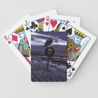 Death Road Dark Scene Bicycle Playing Cards