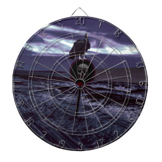 Death Road Dark Scene Dartboard
