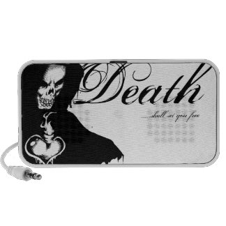 Death shall set you free laptop speaker