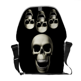 Death Skull Courier Bag