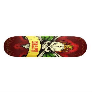 Death Skull Skateboard
