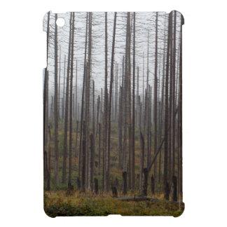Death spruce trees case for the iPad mini