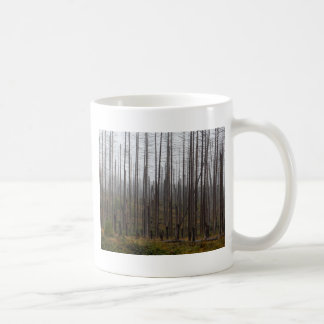 Death spruce trees coffee mug